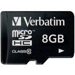 Verbatim microSDHC 8GB UHS-I 44012