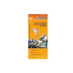 Italie Molise Kampanie Apulie Basilicata Kalabrie C 564 Mapa Od