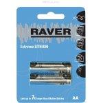 Baterie RAVER LITHIUM AA 2ks