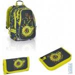 Topgal Školní batoh CHI 656 E green + penál CHI 687 E + peněženka CHI 677 E
