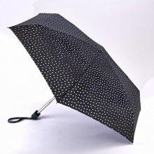 Fulton dámský skládací deštník Lulu Guinness Tiny 2 MINI FOIL LIP L717