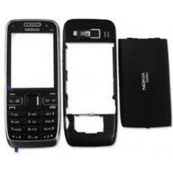 Kryt na mobilní telefon Kryt Nokia E52 černý