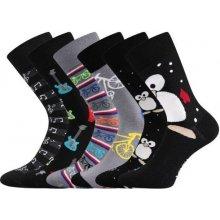 5413c75bf5d Lonka pánské ponožky DOBLE mix C - balení 3 různé páry