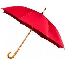 Dámský holový deštník AUTOMATIC červený