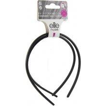 Čelenky plastové 2ks Elite Models ASST Černé, 2 ks, šíře 9 mm