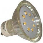 PremiumLED LED žárovka 1W 8xSMD2835 GU10 90lm Teplá bílá