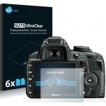 Ochranná fólie Savvies na Nikon D3100, 6ks