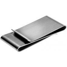 Spona na peníze Stříbrná - oboustranná