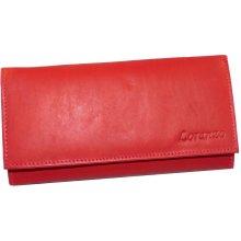 Loranzo Dámská kožená peněženka 438 červená 3117714304