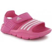 Adidas akwah 8 dětské sandále Pink/white