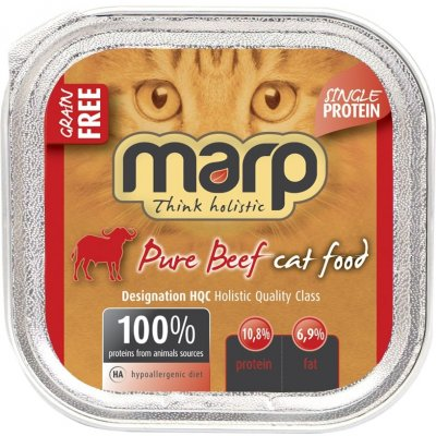 Marp Holistic Pure Beef Cat Can Food 100 g