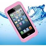 Pouzdro SES Vodotěsné Apple iPhone 5/5S/SE - růžové
