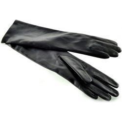 Bohemia dlouhé dámské kožené rukavice černé alternativy - Heureka.cz ecd774b887