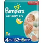 Pampers Active baby 4 maxi 162ks