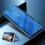 Pouzdro SES Zrcadlové Flip Huawei Nova 3 - modré