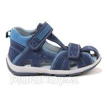Superfit celokožené sandálky modré