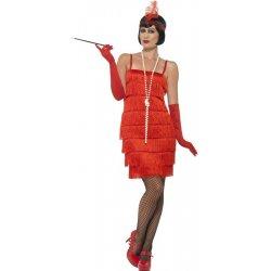 Flapper krátké šaty červené od 570 Kč - Heureka.cz 9989f6f6848