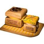 RaE Bambucké tělové máslo 50 ml + Krémový deodorant Color 15 ml Vanilka a orchidej dárková sada