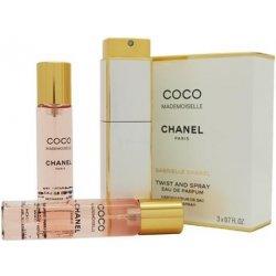 Chanel Coco Mademoiselle parfémovaná voda 3 x 20 ml