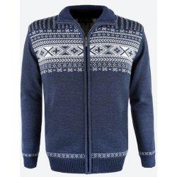 KAMA pletený Merino svetr 4047 modrý od 3 591 Kč - Heureka.cz 700684dcab