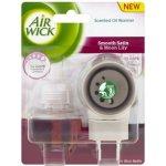 Air Wick Elektrický osvěžovač vzduchu strojek a náplň jemný satén a měsíční lilie 19 ml