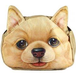 3D kabelka pes Pes zrzavý od 459 Kč - Heureka.cz 2733a0e2b56