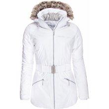 Alpine Pro dámská bunda MEMKA bílá