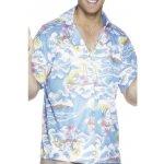 Havajská košile modrá