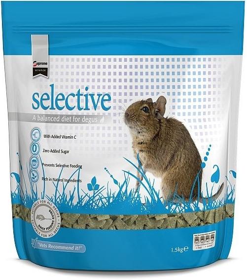 Supreme Science Selective Degu - osmák 350 g