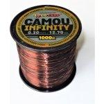 Extra Carp Infinity Camou 1000m 0,28mm 10,9kg