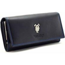 Harvey dámská kožená peněženka ROS modrá F236D544