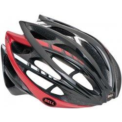 Přilba, helma, kokoska Bell Gage black/red/white stripes 2013