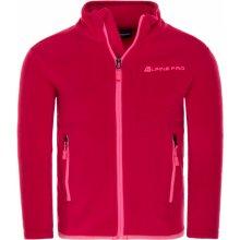 Alpine Pro Cassiuso 2 Dětská fleece mikina KSWL062450 virtual pink