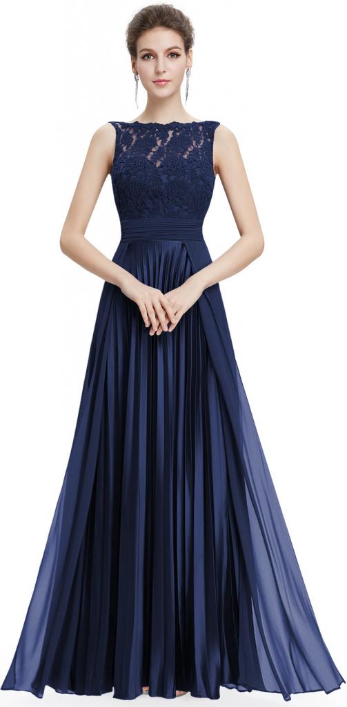Plesové šaty Ever Pretty plesové šaty 8352 tmavě modrá - Seznamzboží.cz bb729740d6