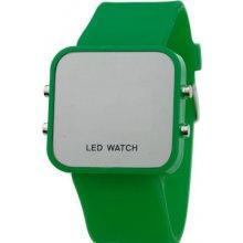 Zrcadlové LED Jelly MA zelené