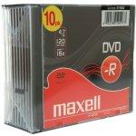 Maxell DVD-R 4,7GB 16x, 10ks
