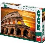 Dino Puzzle Západ slunce nad Koloseem 500 dílků
