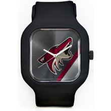 Old Time Hockey Arizona Coyotes Phoenix Coyotes Modify Watches Silicone