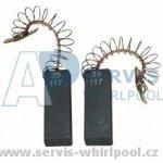 Uhlíky motoru - pár 12,4x5x36 mm Whirlpool,Bosch - Siemens 481236248434