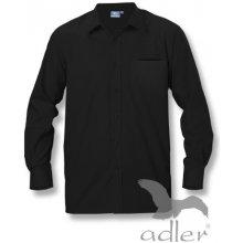 Adler pánská košile dlouhý rukáv 209 Černá