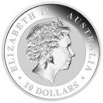 Kookaburra Stříbrná mince 10 Oz