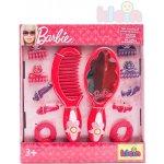 Klein Kadeřnický plastový set se zrcátkem hřebínkem a doplňky Barbie