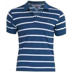 Pánské Tričko Tommy Hilfiger Pánské pruhované polo triko Tommy Hilfiger 52b7799f57
