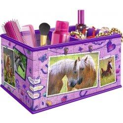 Ravensburger úložný box Kůň 216 dílků