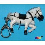 Přívěsek na klíče Blikací vydávající zvuk zvířátko kůň koník