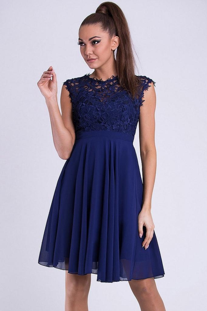 Eva   Lola dámské šaty Maelys tmavě modrá od 1 290 Kč - Heureka.cz a4764a259d