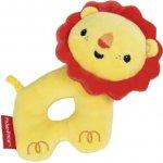 Fisher Price Chrastítko plastové činka lvíček