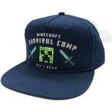 24172ea28f Minecraft  Survive Camp universální modrá  SB6SK0MNC  CurePink