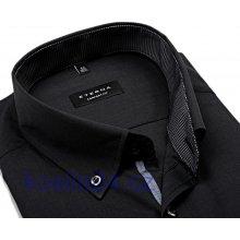 Eterna Comfort Fit antracitová košile s vnitřním límcem 8d214b417d