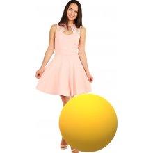 Áčkové společenské šaty na ples žlutá 26b34ec504